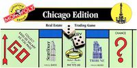 Board Game: Monopoly: Chicago