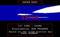 Video Game: Super Huey