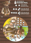 Board Game: Desperados of Dice Town: Mister Phal Promo Character