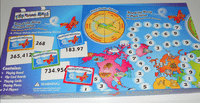 Board Game: Round the World in Place Value