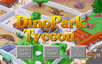 Video Game: DinoPark Tycoon