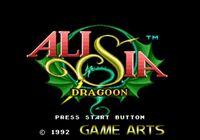 Video Game: Alisia Dragoon