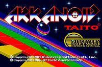 Video Game: Arkanoid