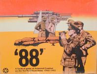Board Game: 88: A Tactical Game of Armored Combat on the North African Front