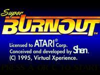 Video Game: Super Burnout