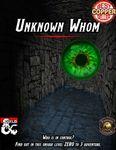RPG Item: Unknown Whom