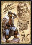 RPG Item: Meisterschirm des Schwarzen Auges (DSA 4th Edition)