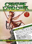 RPG Item: Creature Card Codex: Challenging Creatures