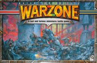 Board Game: Warzone (second edition)