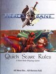 RPG Item: Hero's Bane Quick Start Rules