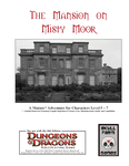 RPG Item: The Mansion on Misty Moor
