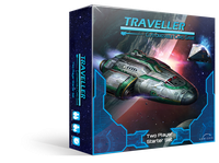 Board Game: Traveller Customizable Card Game: Two Player Starter Set