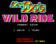 Video Game: Mr. Do!'s Wild Ride