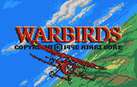 Video Game: Warbirds (Lynx)
