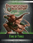 RPG Item: Pathfinder Society Quest: Fane of Fangs
