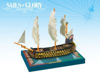Board Game: Sails of Glory Ship Pack: HMS Royal Sovereign 1786 / HMS Brittania 1762