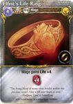 Board Game: Mage Wars: Elfric's Life Ring Promo Card