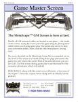 RPG Item: MetaScape Game Master Screen