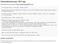 RPG Item: Götterdämmerung