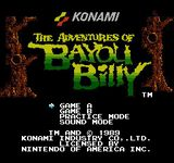 Video Game: The Adventures of Bayou Billy