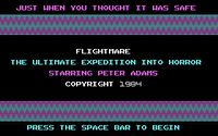 Video Game: Flightmare