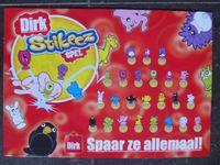 Board Game: Dirk Stikeez Spel