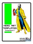 RPG Item: Hero Art Templates Compendium 3