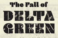 RPG: The Fall of Delta Green