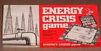 Board Game: Energy Crisis Game