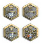 Board Game: Terra Mystica: 4 Town Tiles