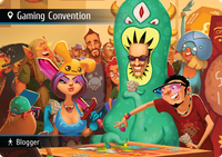 Board Game: Spyfall: Gaming Convention promo cards
