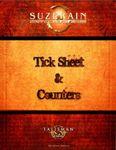 RPG Item: Tick Sheet & Counters