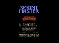 Video Game: Sprintmaster