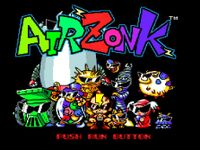 Video Game: Air Zonk