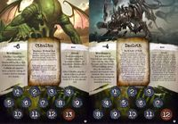 Board Game: Arkham Horror: Arkham Nights 2010 Promotional Ancient One Cards