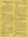 RPG Item: The Forgotten Valley