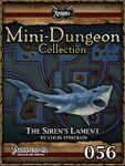 RPG Item: Mini-Dungeon Collection 056: The Siren's Lament (Pathfinder)