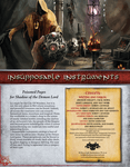RPG Item: Insupposable Instruments