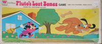Board Game: Walt Disney's Pluto's Lost Bones Game
