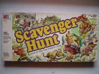 Board Game: Scavenger Hunt