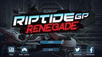 Video Game: Riptide GP: Renegade