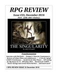 Issue: RPG Review (Issue 33 - Dec 2016)