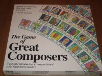 Board Game: The Game of Great Composers