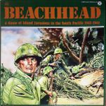 Board Game: Beachhead: A Game of Island Invasions in the South Pacific