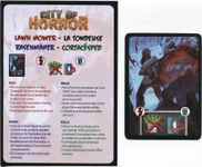 Board Game: City of Horror: Lawn Mower