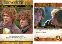 Board Game: The Lord of the Rings: The Fellowship of the Ring Deck-Building Game – Merry & Pippin Promos