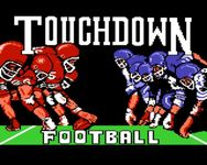 Video Game: Touchdown Football
