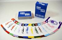 Board Game: TRIUMPH: A card-arranging strategy game