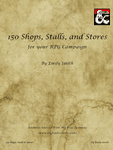RPG Item: 150 Shops, Stalls, and Stores