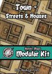 RPG Item: Heroic Maps Modular Kit: Town - Streets & Houses
